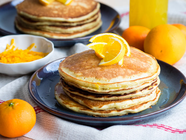 Brunching | Bedfolk & The Worktop | Orange & Ricotta Pancakes