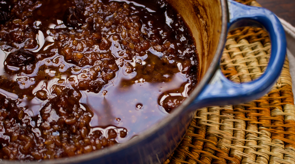Sticky Toffee Brown Rice Pudding
