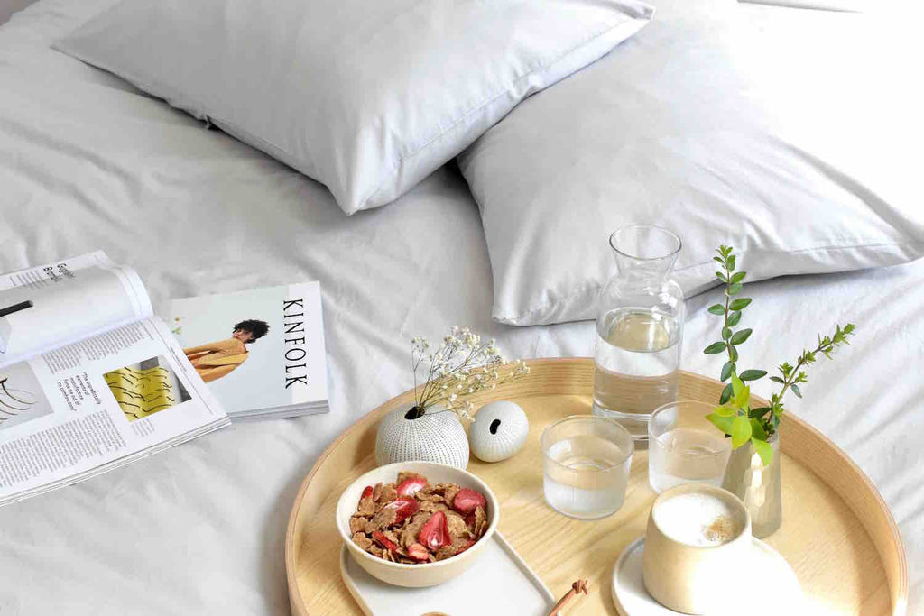 Breakfast in bed | Bedfolk style | MK Design