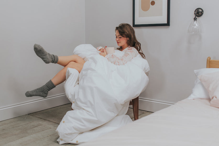 The perfect duvet day | BEDFOLK