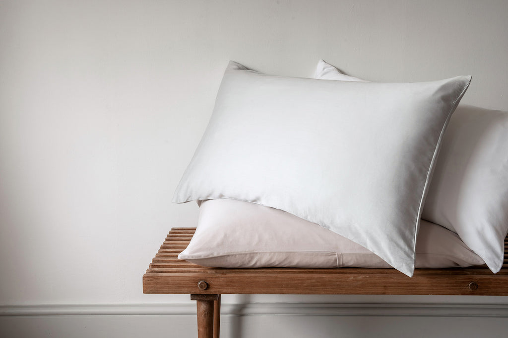 Luxury sateen pillowcases, Luxe bedding by Bedfolk