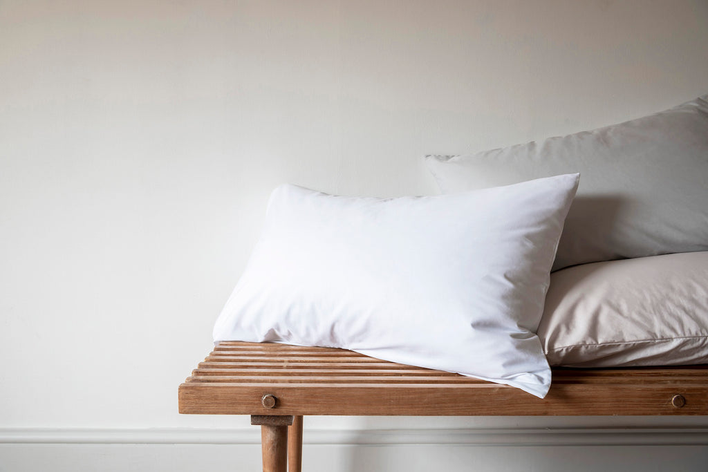 Percale cotton pillowcases, Classic bedding by Bedfolk