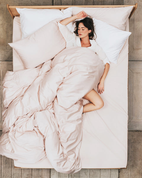 What is sateen bedding and how does it feel?