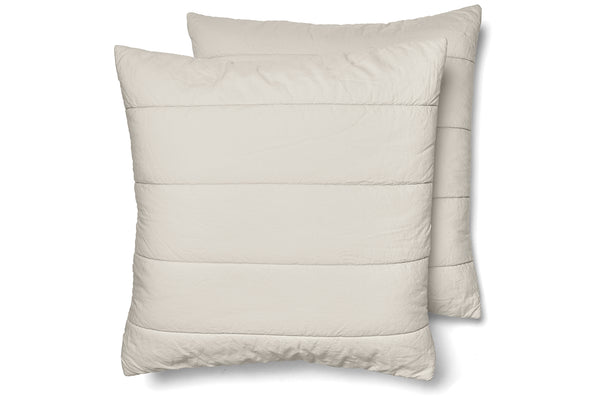 Quilted Square Pillowcase Pair