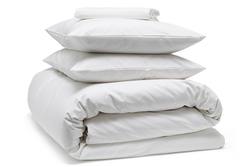 Crisp, cool & super smooth bedding bundle | Classic Cotton in Snow by BEDFOLK