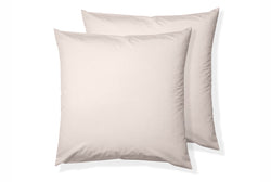 Classic Cotton Square Pillowcase Pair