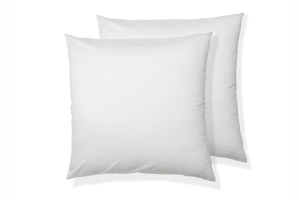 Luxe Cotton Square Pillowcase Pair