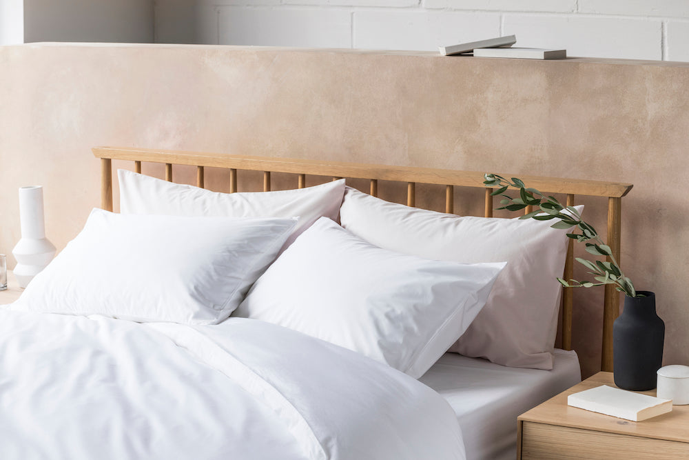 Classic Percale Cotton Bedding   BEDFOLK