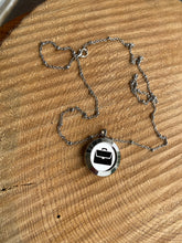 Briefcase silver locket