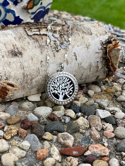 Tree of Life silver locket