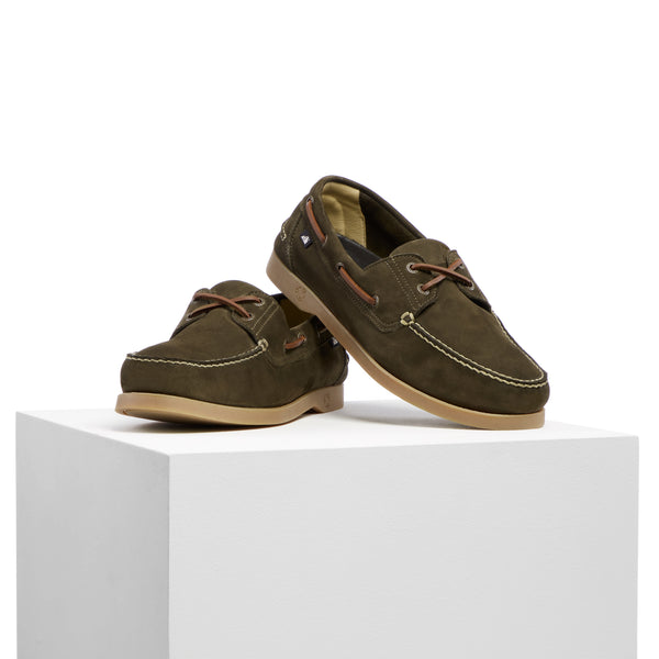 Two Degrees deck shoes - Wild Olive