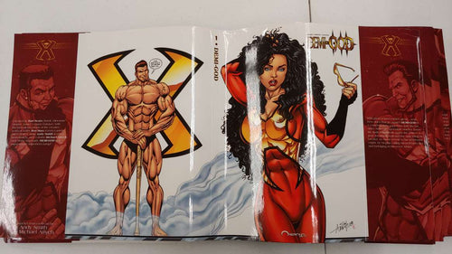 DEMI-GOD ARTIST VARIANT DUST JACKETS