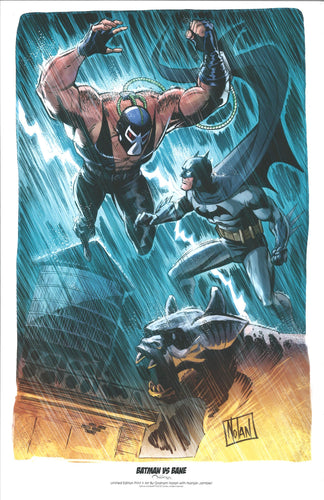 BATMAN VS. BANE 11