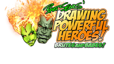 DRAWING POWERFUL HEROES VOLUME ONE REWARD PACK