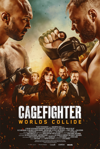 CAGEFIGHTER : Worlds Collide - Movie Poster Art Print