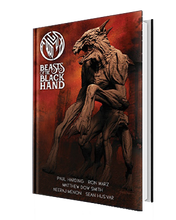 BEASTS OF THE BLACK HAND GRAPHIC NOVEL PAUL HARDING SCULPT COVER
