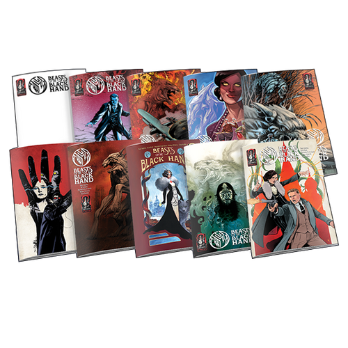 BEASTS OF THE BLACK HAND VARIANT COVER SET COMPLETE SET
