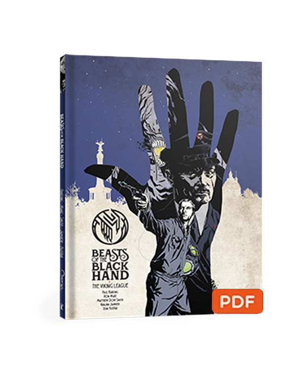 BEASTS OF THE BLACK HAND VOL 2: THE VIKING LEAGUE GRAPHIC NOVEL - DIGITAL