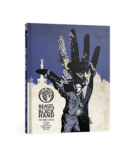 BEASTS OF THE BLACK HAND VOL 2: THE VIKING LEAGUE GRAPHIC NOVEL