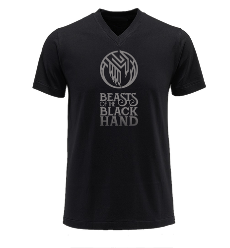 BEASTS OF THE BLACK HAND LOGO T-SHIRT