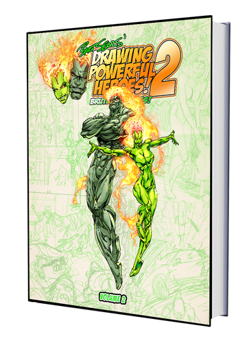 BART SEARS' DRAWING POWERFUL HEROES 2: BRUTES AND BABES - PRE-ORDER