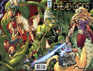 DREAD GODS #2 BART SEARS COVER