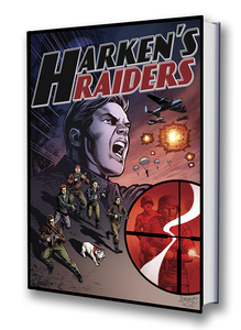 HARKEN'S RAIDERS GRAPHIC NOVEL - PRE-ORDER