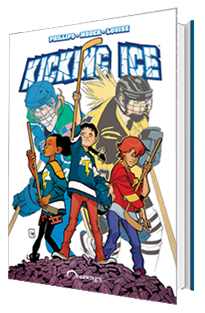 KICKING ICE: GRAPHIC NOVEL SOFT COVER