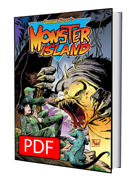 MONSTER ISLAND COLOR EDITION BY GRAHAM NOLAN - DIGITAL