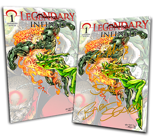 OMINOUS PRESS LEGENDARY #1: INFINITY