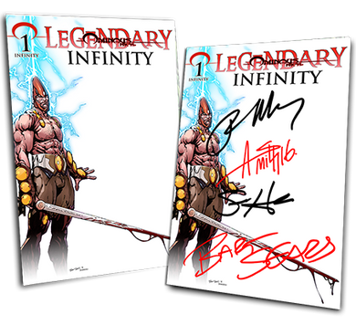 LEGENDARY #1: INFINITY BART SEARS VARIANT