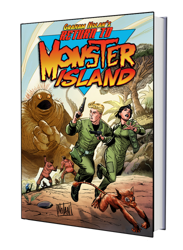 GRAHAM NOLAN'S RETURN TO MONSTER ISLAND