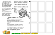 WORKSHEET #2 DRAWING POWERFUL HEROES - DIGITAL