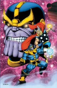 JIM STARLIN THANOS ART PRINT