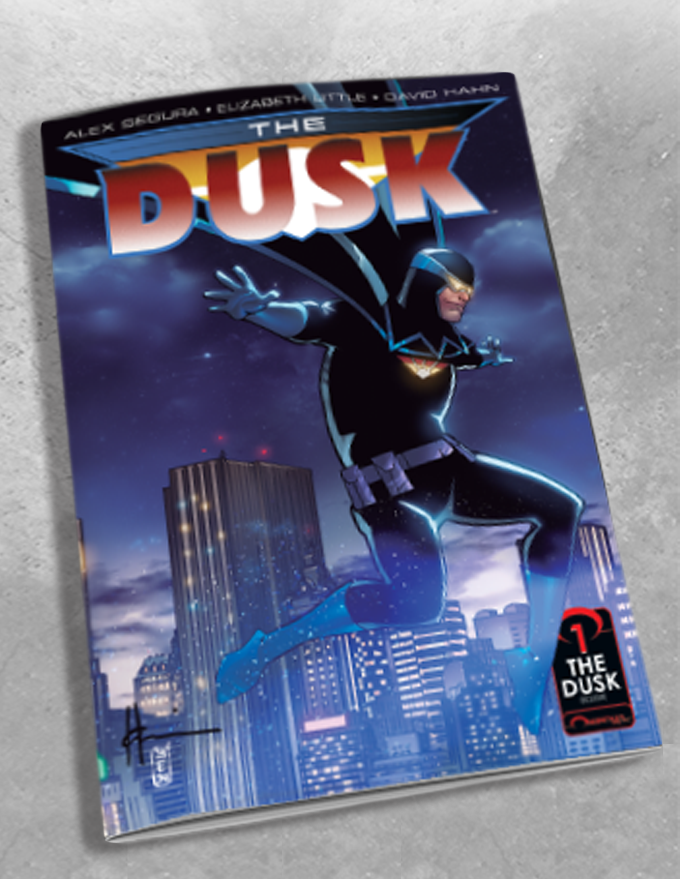 THE DUSK #1 HOWARD CHAYKIN VARIANT