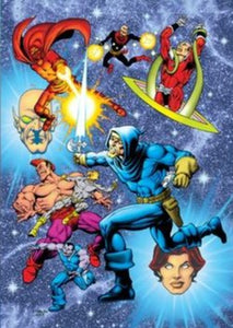 JIM STARLIN SLIPCASE ART PRINT