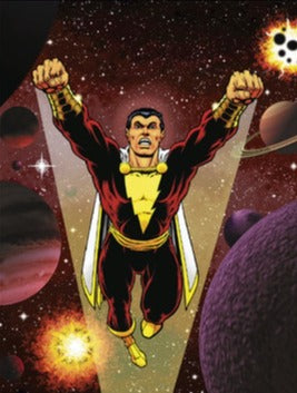 JIM STARLIN SHAZAM! ART PRINT
