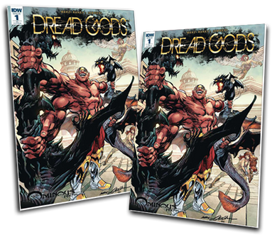 DREAD GODS #1 NEAL ADAMS VARIANT COVER