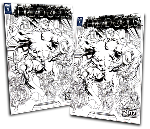 DREAD GODS #1 TOM RANEY VARIANT COVER
