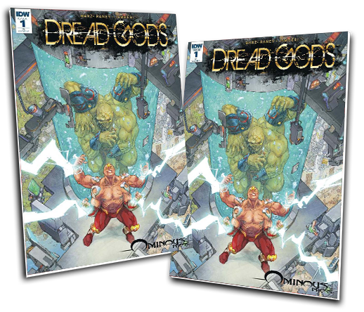 DREAD GODS #1 KENNETH ROCAFORT VARIANT COVER