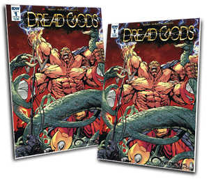 DREAD GODS #1 BART SEARS COVER