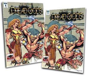 DREAD GODS #1 ANDY SMITH VARIANT COVER