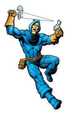 DREADSTAR FIGURE STICKER