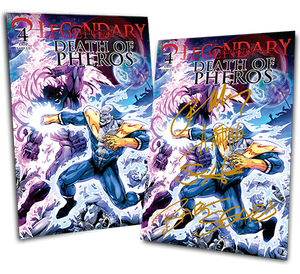 LEGENDARY #4: DEATH OF PHEROS JIM STARLIN VARIANT COVER