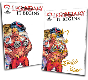 LEGENDARY #2: IT BEGINS TOM RANEY VARIANT