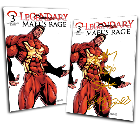 LEGENDARY #3: MAEL'S RAGE ANDY SMITH VARIANT