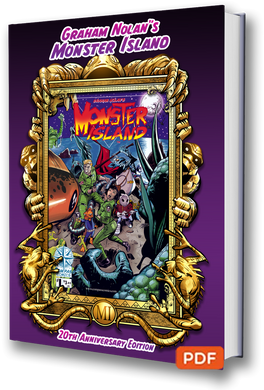 MONSTER ISLAND 20TH ANNIVERSARY CREATOR EDITION BY GRAHAM NOLAN - DIGITAL