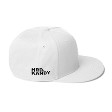 Load image into Gallery viewer, HRD. KANDY Snapback, White