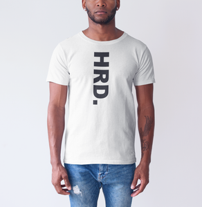HRD. KANDY Downward Script T-Shirt, White