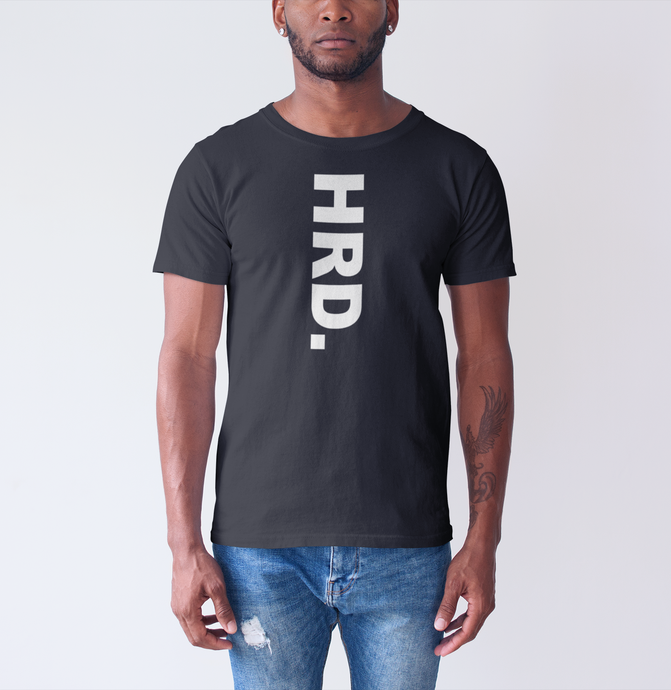 HRD. KANDY Downward Script T-Shirt, Black